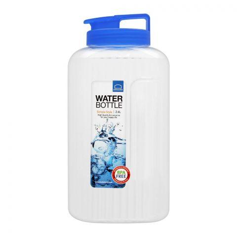Lock & Lock Indoor Water Bottle, 2.6L, Blue, LLHAP739