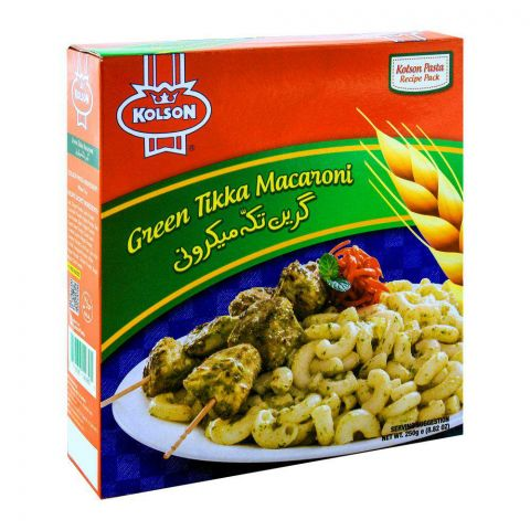 Kolson Green Tikka Macaroni 250g