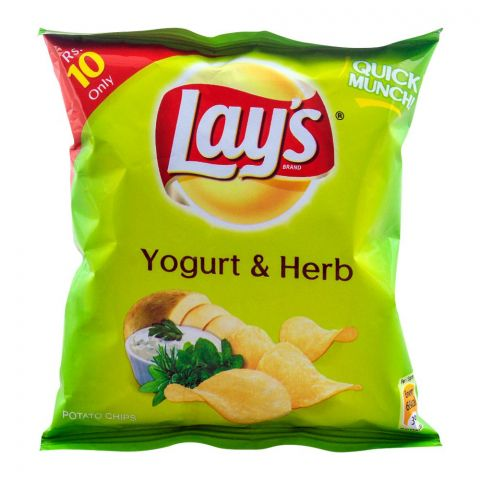Lay's Yogurt & Herb Potato Chips 14g