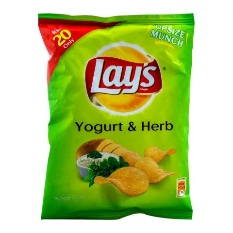 Lay's Yogurt & Herb Potato Chips 27g