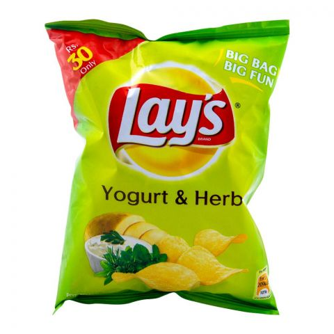 Lay's Yogurt & Herb Potato Chips 40g