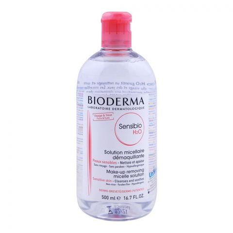 Bioderma Sensibio H2O Make-up Removing Micelle Solution 500ml