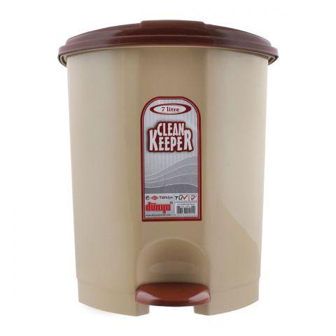 Clean Keeper Pedal Waste Bin, 7 Liters, D-01011