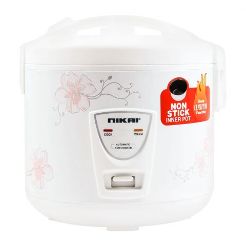 Nikai Automatic Rice Cooker, Non-Stick, NR674N3