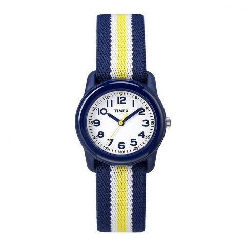 Timex Boys Time Machines Analog Elastic Fabric Strap Watch - TW7C05800
