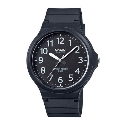 Casio Core Men's Black Resin Strap Watch, MW-240-1B2VDF