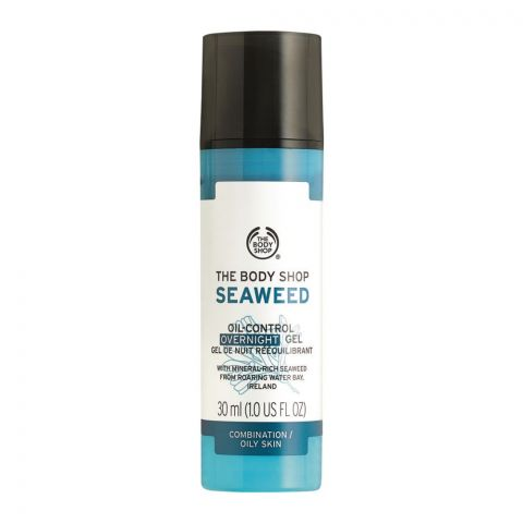 The Body Shop Seaweed Oil-Control Overnight Gel, Combination/Oily Skin, 30ml