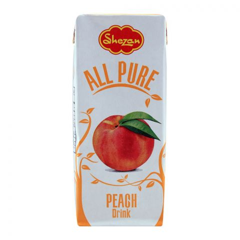 Shezan All Pure Peach Fruit Drink, 200ml