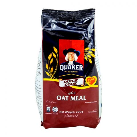 Quaker Quick Cook Oatmeal, 200g, Pouch