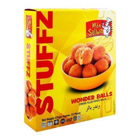 MonSalwa Wonder Balls Stuffz, Cheese + Potato, 15 Pieces