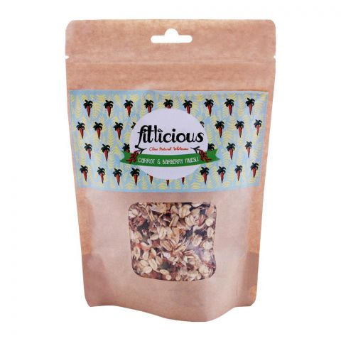 Fitlicious Carrot & Barberry Muesli, Small