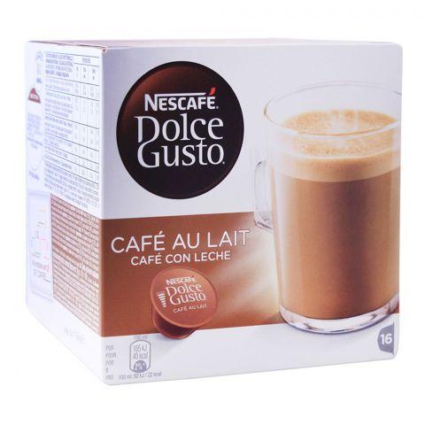Nescafe Dolce Gusto Cafe Au Lait Capsules, 16 Single Serve Pods
