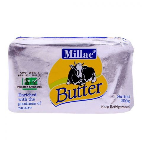 Millac Butter Salted 200g