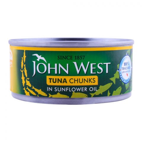 John West Tuna Chunks Sunflower Oil 145g