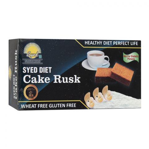 Syed Flour Mills Diet Cake Rusk, Wheat & Gluten Free, 200g