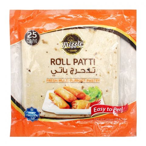 Frizzle Roll Patti, 25-Pack, 450g