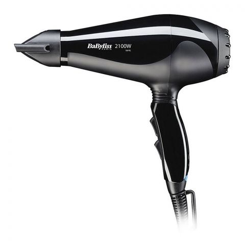 Babyliss Le Pro Light AC Hair Dryer, 2100W, 6609SDE