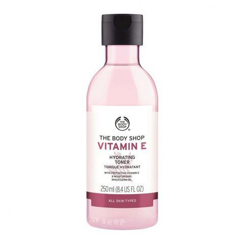 The Body Shop Vitamin-E Hydrating Toner, All Skin Types, 250ml