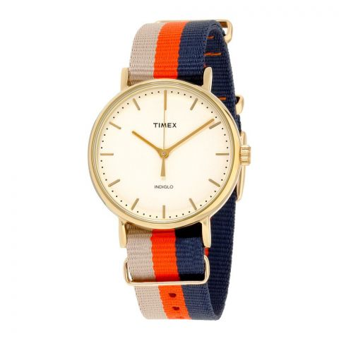 Timex Fairfield Cream Dial Unisex Watch - TW2P91600