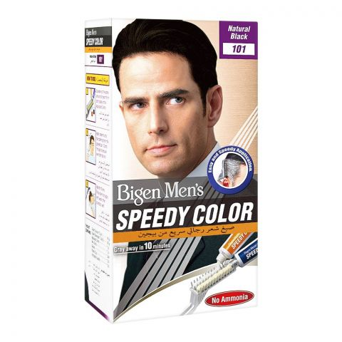 Bigen Men's Speedy Hair Color, Natural Black 101