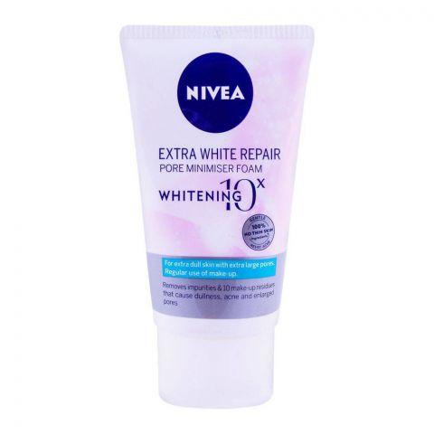 Nivea Extra White Repair Pore Minimiser Foam 100g