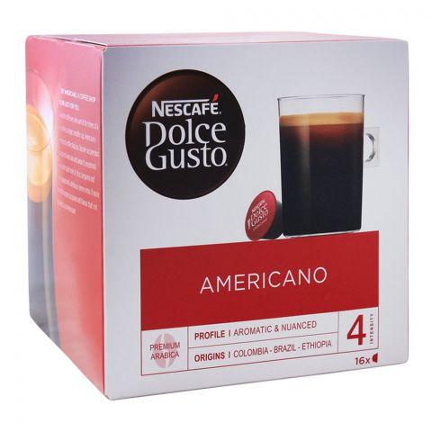 Nescafe Dolce Gusto Americano Capsules, 16 Single Serve Pods