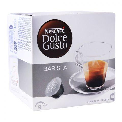 Nescafe Dolce Gusto Barista Capsules, 16 Single Serve Pods