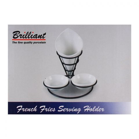 Brilliant French Fries Serving Holders BR-0098