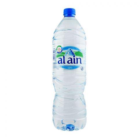 Al Ain Bottled Drinking Mineral Water, 1.5 Liters