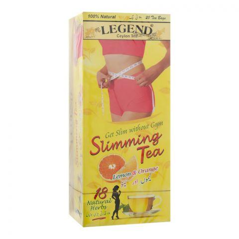 Legend Slimming Tea, Lemon & Orange, 20 Tea Bags