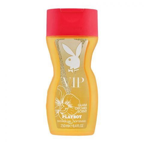 Playboy VIP Glam Orchid Scent Shower Gel, 250ml