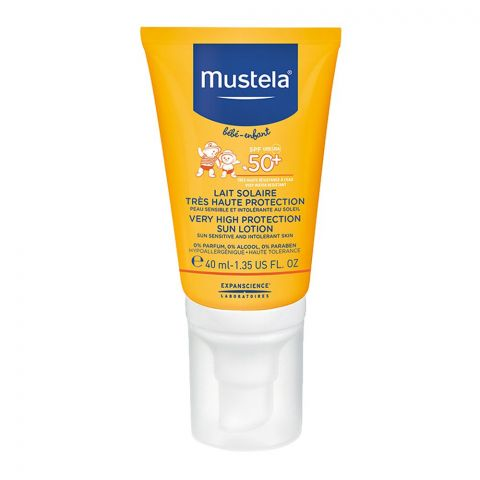 Mustela Baby Very High Protection Sun Lotion SPF 50+ 40ml