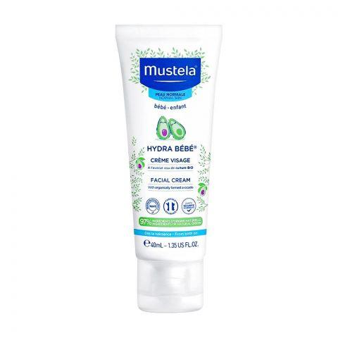 Mustela Hydra Baby Facial Cream