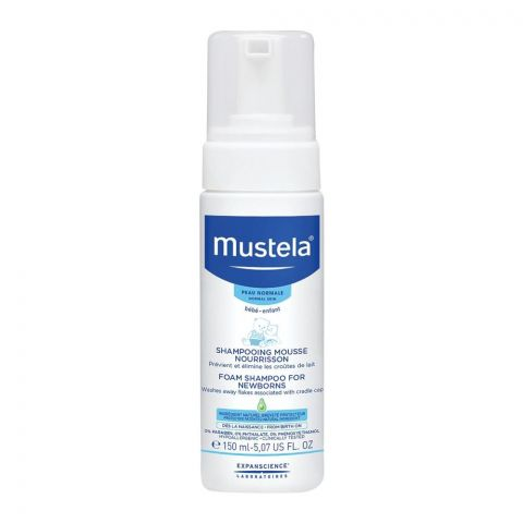 Mustela Newborns Foam Shampoo 150ml
