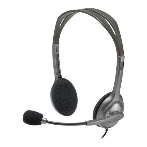 Logitech Stereo Headset, Black, H111