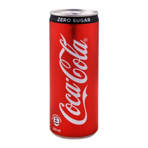Coca Cola Zero Calories Can (Local) 250ml