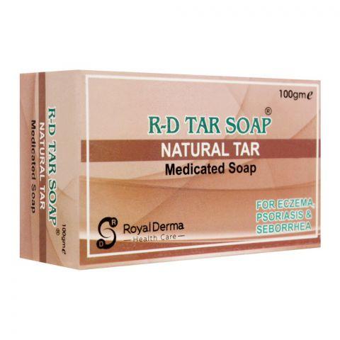 Royal Derma R-D Tar Medicated Soap, 100g