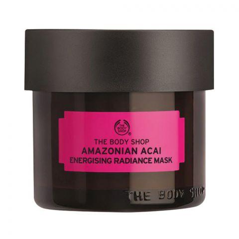 The Body Shop Amazonian Acai Energising Radiance Mask, 75ml