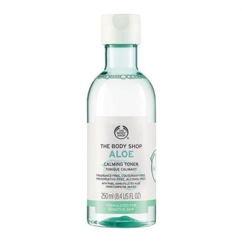 The Body Shop Aloe Calming Toner, Sensitive Skin, 250ml