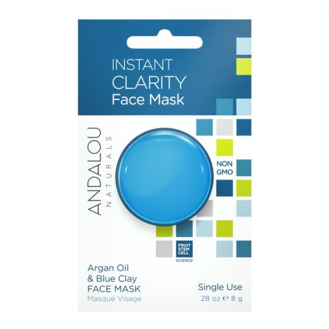 Andalou Instant Clarity Clay Face Mask