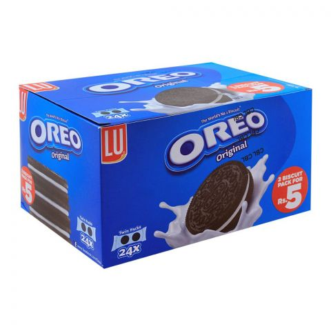 Oreo Original Biscuits, 24 Twin Packs