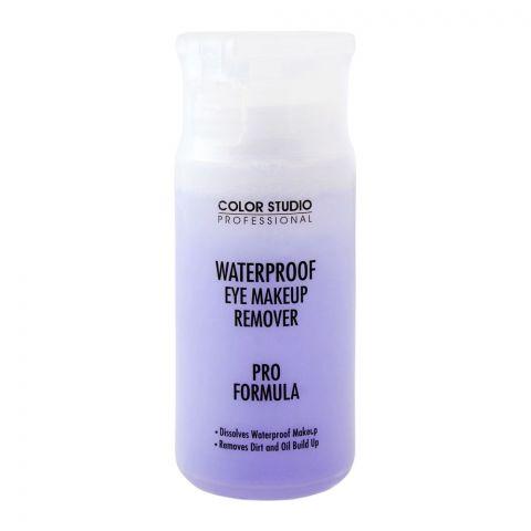 Color Studio Waterproof Eye Makeup Remover, Pro Formula