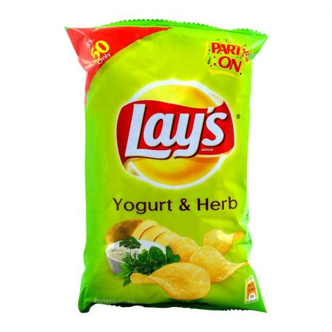 Lay's Yogurt & Herb Potato Chips 70g