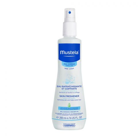 Mustela Baby Skin Freshener, Hair and Body, Normal Skin, 200ml