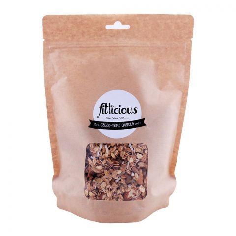 Fitlicious Cacao-Maple Granola Muesli, Large