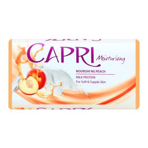 Capri Moisturising Nourishing Peach Soap, 140g