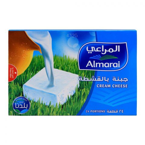 Almarai Cream Cheese Portion, 24-Pack, 432gm