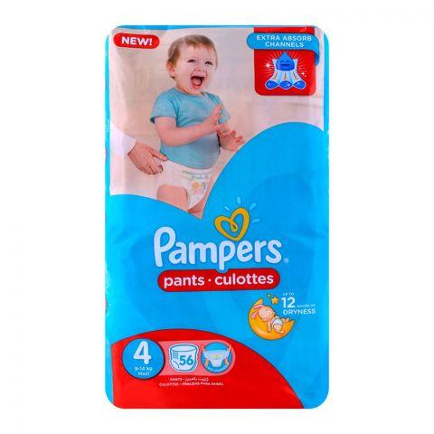 Pampers Pants No. 4 Maxi Jumbo 9-14 Kg 56-Pack