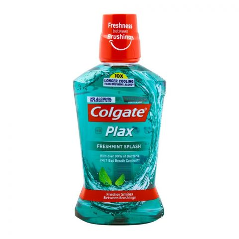 Colgate Plax Freshmint Splash Mouthwash 500ml