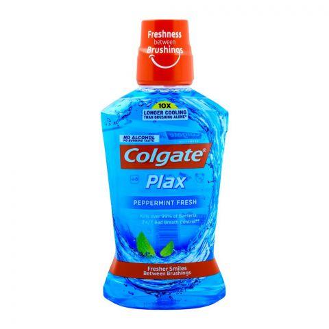 Colgate Plax Peppermint Fresh Mouthwash 500ml